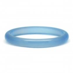 Bague Pierre fine, Agate bleue