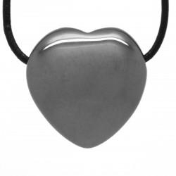 Hématite, Pendentif Coeur Pierre