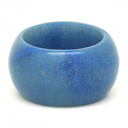 Aventurine bleue, Anneau en pierre