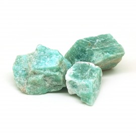 Amazonite, Pierre brute, par 100 grammes