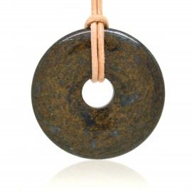 Bronzite, Donuts Pierre naturelle 40 mm