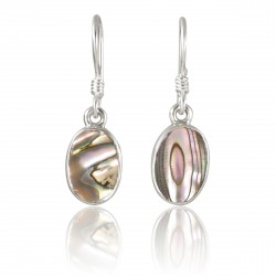 Boucles Abalone multicolore