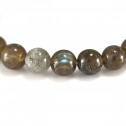 Bracelet perles labradorite