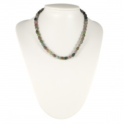 Collier Pierre Agate Multicolore