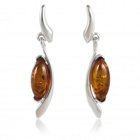 Boucles ambre 2 marquises