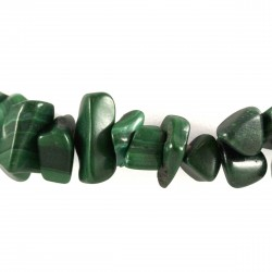 Bracelet Pierre baroque Malachite