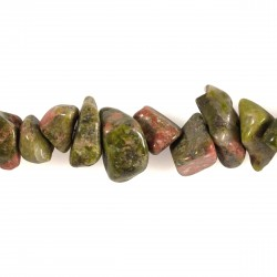 Collier baroque Unakite