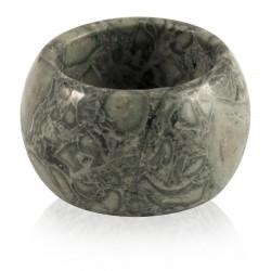 Bague Pierre anneau Jaspe vert 15 mm
