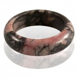 Bague Pierre fine Rhodonite 5 mm
