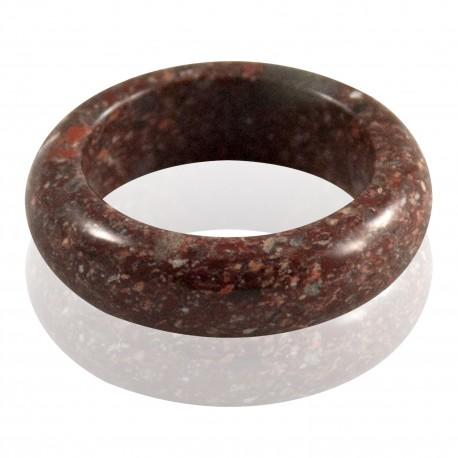 Bague pierre jaspe bréché 2
