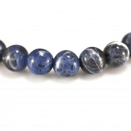 Bracelet Pierre, perles de Sodalite