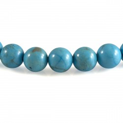 Bracelet Turquoise, perles 8 mm