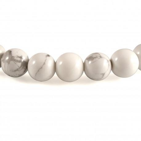 Bracelet Pierre, perles de Magnésite