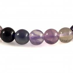 Bracelet Pierre, perles de Fluorite