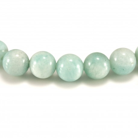 Bracelet Pierre, perles d'Amazonite