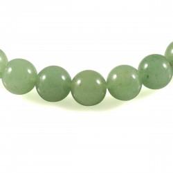 Bracelet Aventurine verte, perles 8 mm