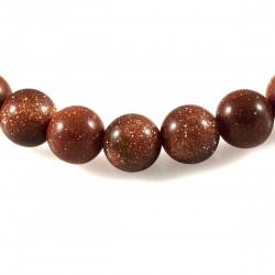 Bracelet Pierre, perles de pierre de Soleil