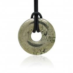 Pyrite, Donuts Pierre naturelle 30 mm