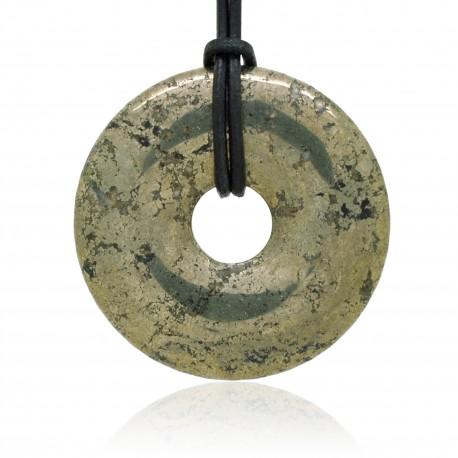 Pyrite, Donuts Pierre naturelle 40 mm