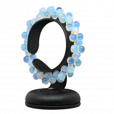 Bracelet ADN Pierre, perles d'Opaline