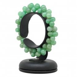 Bracelet Aventurine verte, perles ADN