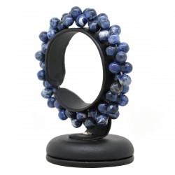 Perles de sodalite, Bracelet ADN Pierre