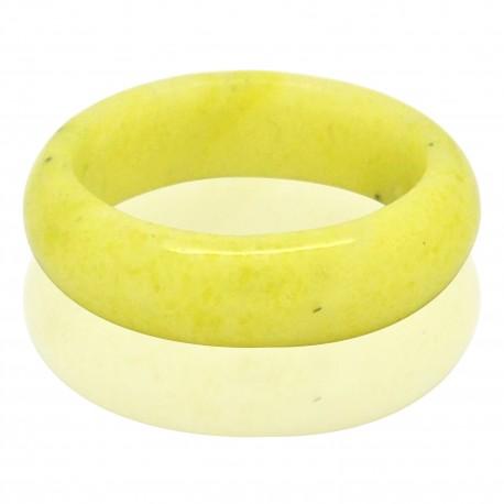 Bague Pierre fine Agate jaune