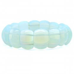 Bracelet de Pierre, rectangle d'Opalite