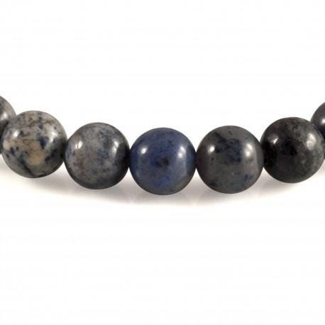 bracelet pierre perles de dumorti rite el gance min rale. Black Bedroom Furniture Sets. Home Design Ideas