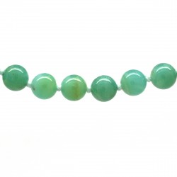 Collier Pierre, perles 8 mm, Amazonite