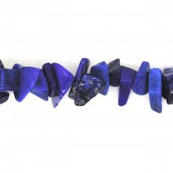 Collier Pierre baroque Lapis lazuli, 45cm
