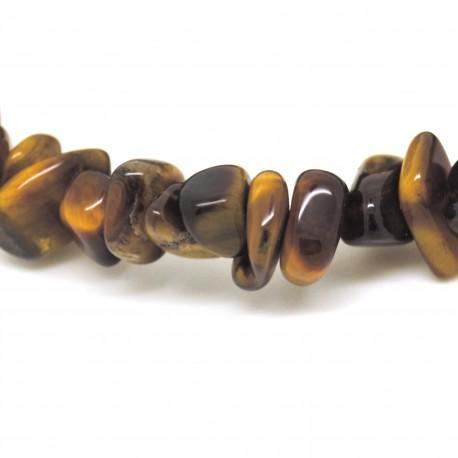 Bracelet Pierre baroque Œil de tigre