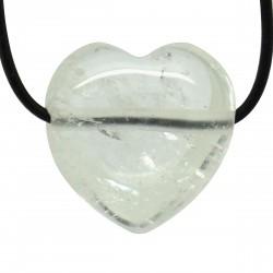 Cristal de roche, Pendentif Coeur Pierre