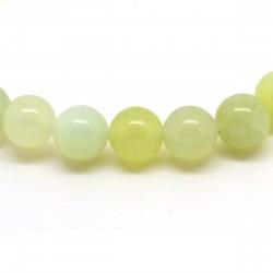 Bracelet Jade de Chine, perles 8 mm