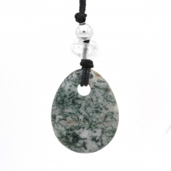Agate arbre, Collier Joy