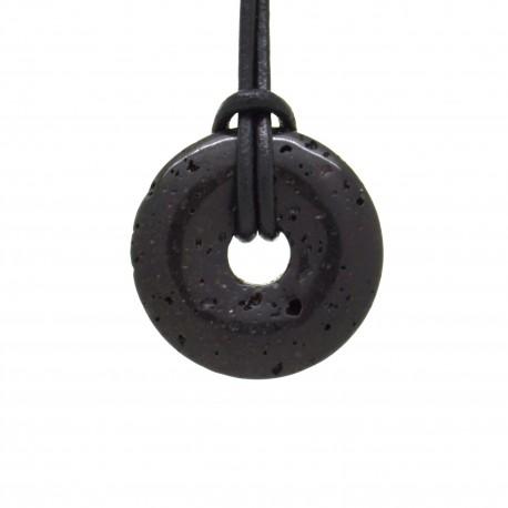 Lave noire, donuts pierre 30 mm