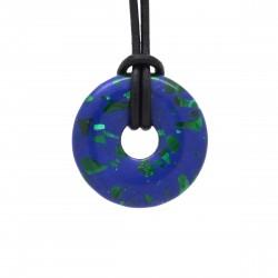 Azurite Malachite, donuts pierre 30 mm