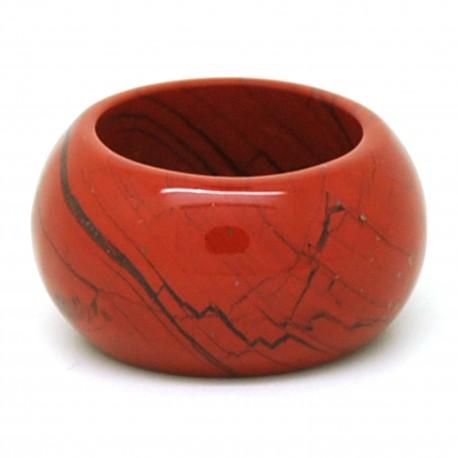 Jaspe rouge, Anneau en pierre