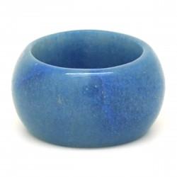 Aventurine bleue, Anneau en pierre 15 mm