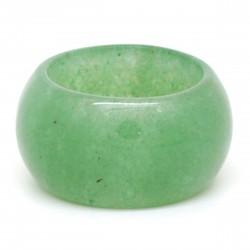 Aventurine verte, Anneau en pierre