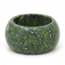 Jaspe vert craquelé, Anneau en pierre