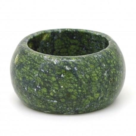 large anneau en pierre naturelle 1 4cm de large jaspe vert. Black Bedroom Furniture Sets. Home Design Ideas