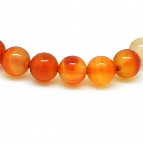Bracelet Pierre, perles de Cornaline