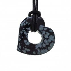 Obsidienne mouchetée, Donuts cœur Pierre