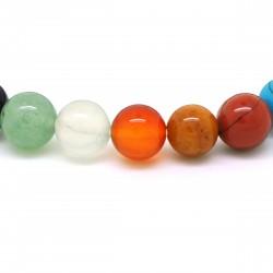 Bracelet Pierre, perles de Pierres variées