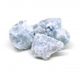 Calcite bleue, Pierre brute, par 100 grammes