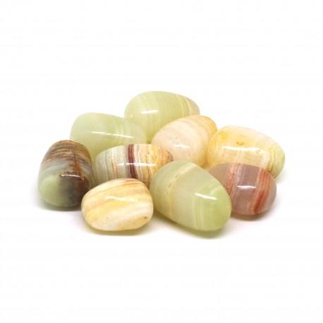 Aragonite 2, Pierres roulées, par 100 grammes