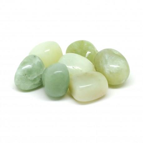 Jade de Chine, Pierres roulées, par 100 grammes