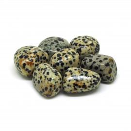 Jaspe dalmatien, Pierres roulées, par 100 grammes