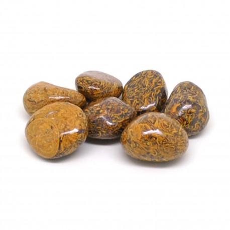 Jaspe peau de serpent, Pierres roulées, par 100 grammes